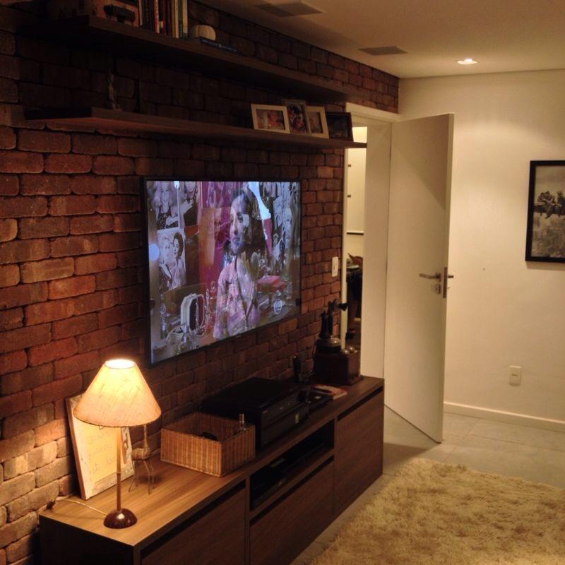decoracao de apartamentos pequenos rustico:Doce Lar